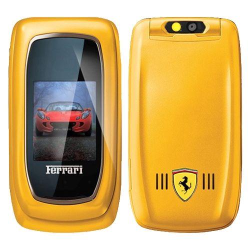 d845940c8b Celular Ferrari com 3 Chips amarelo - Show de Ofertas